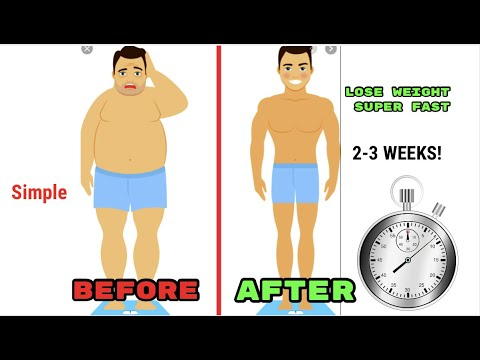 How to lose weight FAST(scientifically proven)