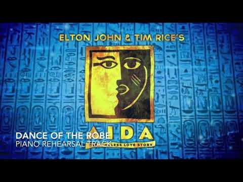 Dance of the Robe - Aida - Piano Accompaniment/Rehearsal Track