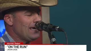 "Jason Cade perform (original) ""On The Run"""