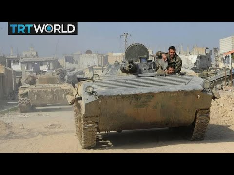 The War in Syria: Regime advance reportedly divides east Ghouta