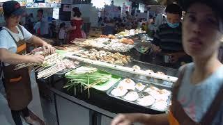 КУЛИНАРНЫЙ ШОК! Улица еды на острове ХАЙНАНЬ, Китай