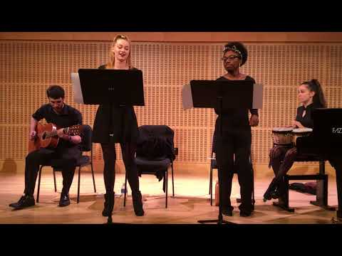 Adelphi World Music Ensemble Madi Singing Despacito