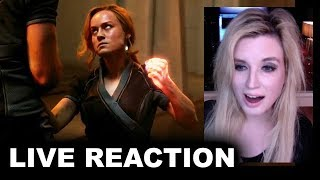 Captain Marvel Special Look REACTION