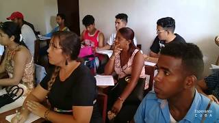 CLASE INTRODUCTORIA DE ESPERANTO, CAMAGUEY – 2019