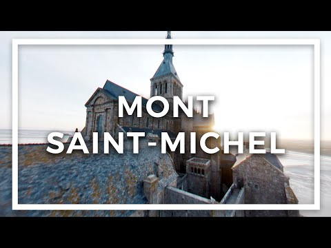 Фото Mont-Saint-Michel like never before! – Cinematic FPV
