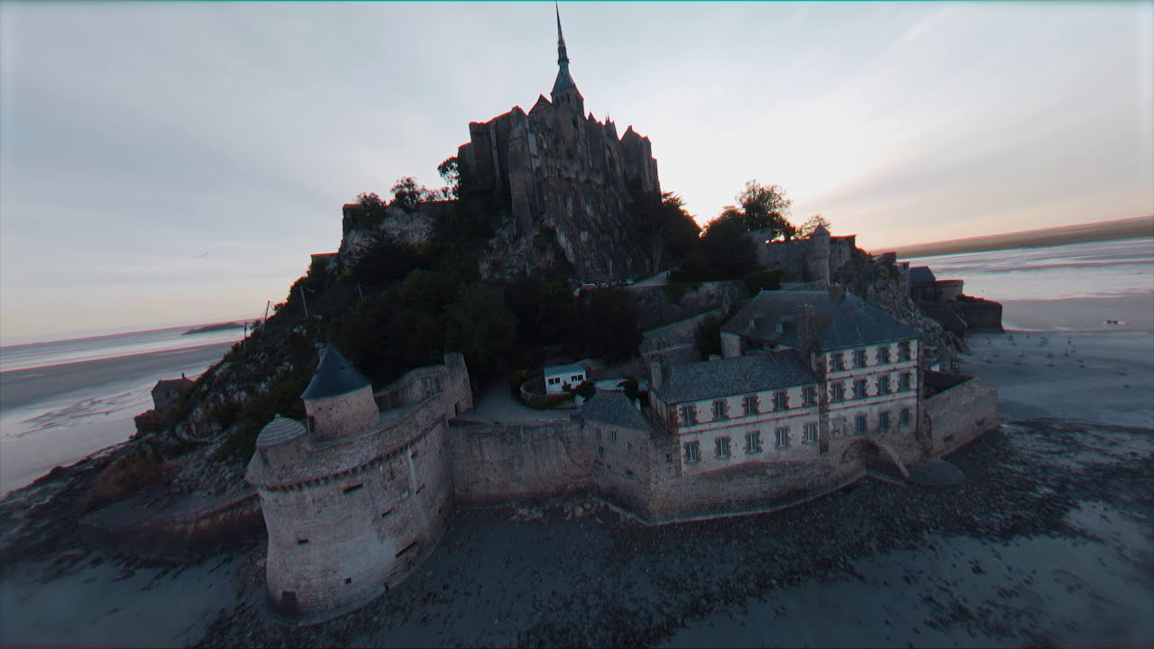 Mont-Saint-Michel like never before! – Cinematic FPV фотки