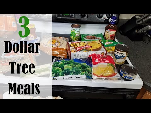 3 Dollar Tree Meals You Can Make This Week!