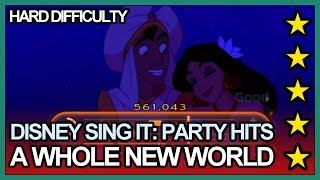 Disney Sing It: Party Hits - A Whole New World Hard 5 Stars