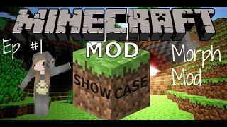 Minecraft Morph Mod ~Mod Showcase #1~