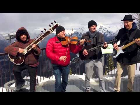 Himalayan Sleigh Ride -  Sultans of String featuring Anwar Khurshid - filmed with iPhones