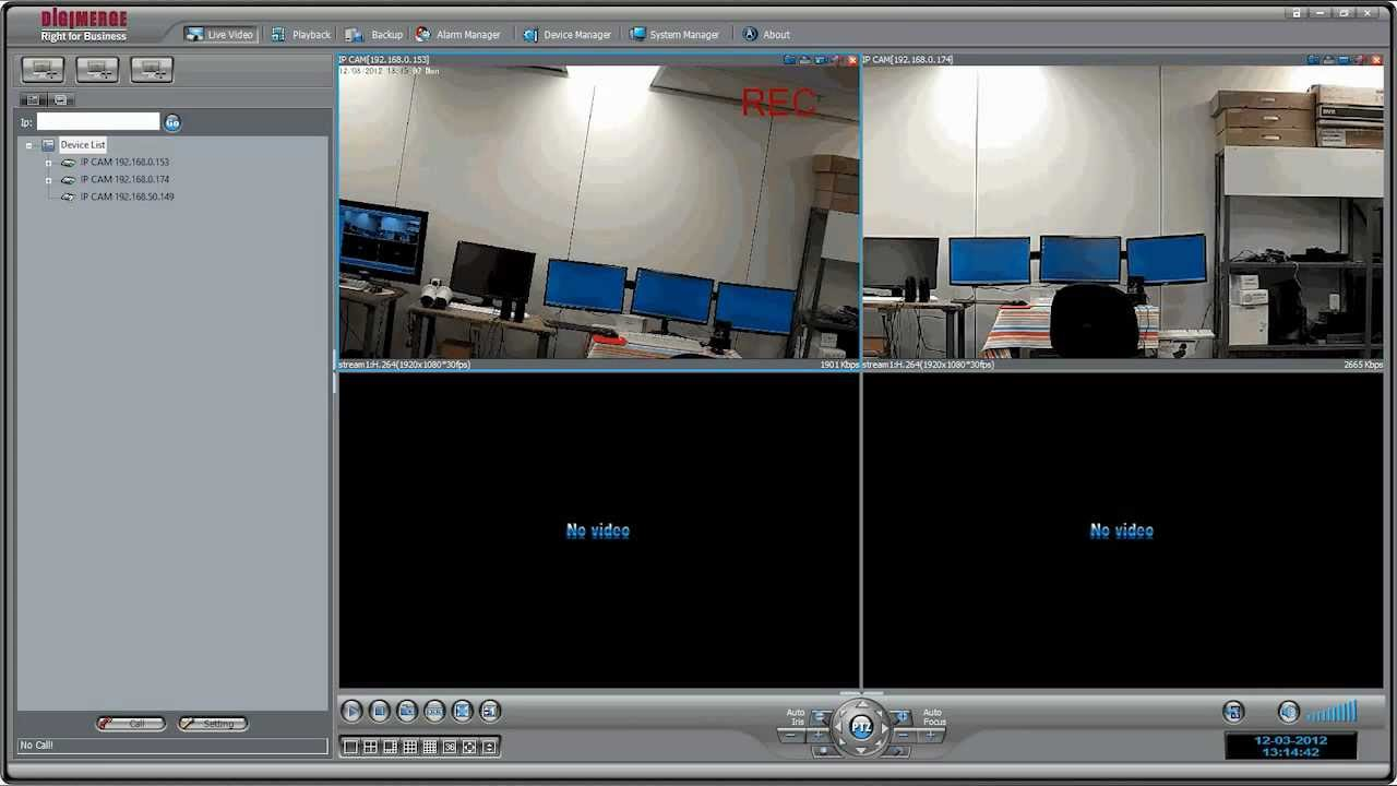 SyncroIP Camera Recording to PC / NAS Tutorial using ...