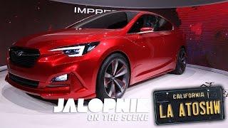 Watch The Subaru Impreza Sedan Concept Get Unveiled Early
