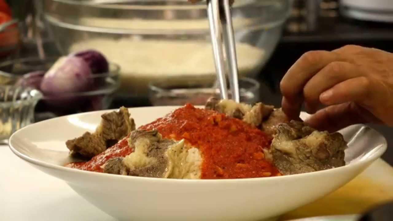 أسرع وأسهل الوصفات : MINI Recipe - طريقة عمل الفتة المصرية باللحم