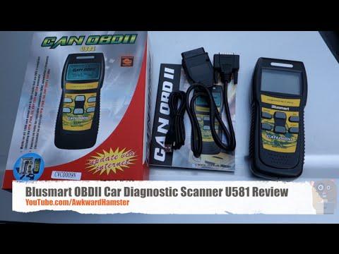 Blusmart OBDII Car Diagnostic Scanner U581 Review