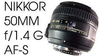 Nikon Nikkor 50mm f1.4G AF-S Review
