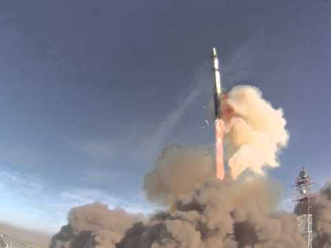 WNISAT-1 Launch on Dnepr (from up close)