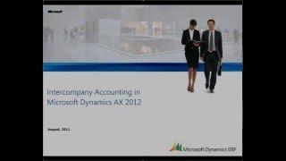 Microsoft Dynamics AX: Intercompany Accounting