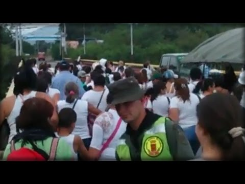 STARVING VENEZUELAN SOCIALISTS STORM BORDER HUNTING FOR FOOD TO FEED THEIR FAMILIES