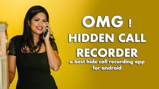 Hidden Call Recorder App For Android. Hide Call Recording App For Android