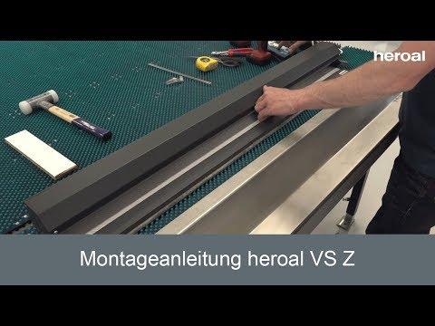 Montageanleitung Heroal VS Z | Heroal Services