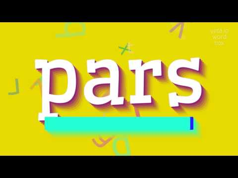 "How to say ""pars""! (High Quality Voices)"