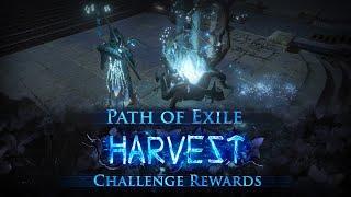 Harvest Challenge Rewards