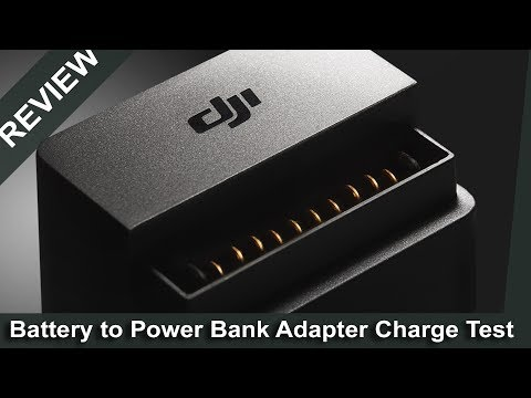 Dji Mavic Battery to Power Bank Test // How much will it charge? // Essential Accessories