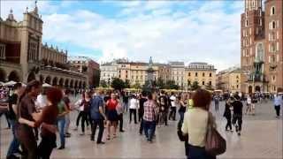 Krakow_International Flash Mob - West Coast Swing - 5.09.2015