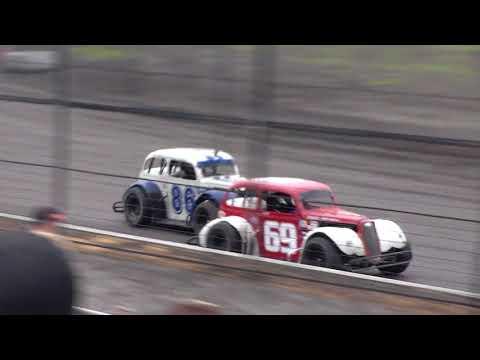 Buffalo River Race Park INEX Legends Heats (9/16/17)