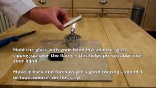 Make a superhydrophobic surface at home