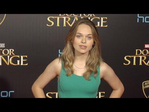 "Alyssa Jirrels ""Doctor Strange"" World Premiere Red Carpet"