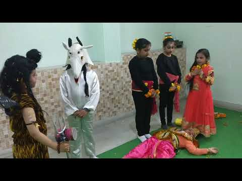 Shivratri Play at Bright School Panchkula