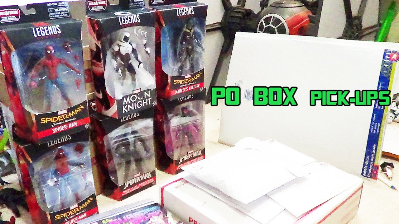 marvel legends give aways mexico city convention comic haul po box pick ups 6 14 17 youtube. Black Bedroom Furniture Sets. Home Design Ideas