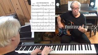 Love Is A Many Splendored Thing - Jazz guitar & piano cover ( Sammy Fain & Paul Francis )