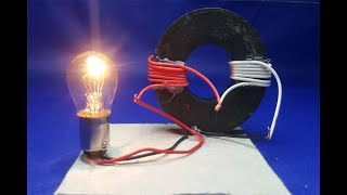 Free Energy Generator Magnet Coil 100% Real New Technology New Idea Project - at home 2018