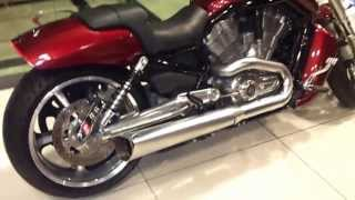 vance hines exhaust on harley davidson v rod muscle