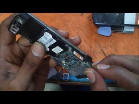Samsung SGH-L810V MotherBoard Removal