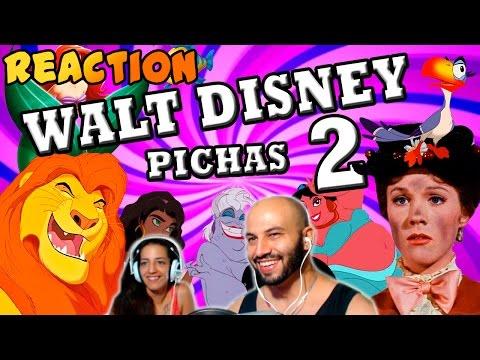 Walt Disney Pichas 2 | HDUB | Video Reaccion | Reaction | Español