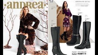 Nuevos Catalogos Zapatos Andrea Otoño Invierno 2018 Youtube