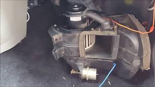 Troubleshoor & Replace Heater/AC blower fan