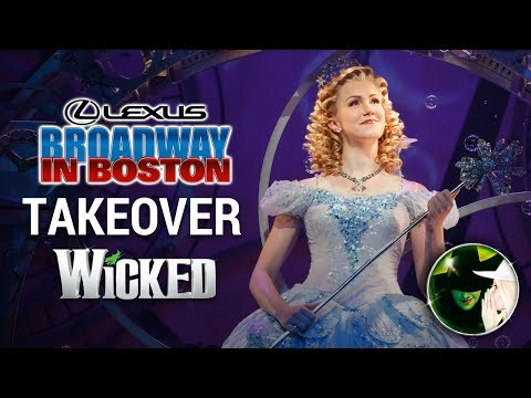 Ginna Claire Mason's Broadway in Boston Takeover | WICKED The Musical