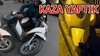 Vietnam'da Motor Kiralayıp KAZA Yaptık! (Pert Oldu) ~74