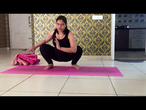 Prenatal Yoga practice for 8 months pregnant