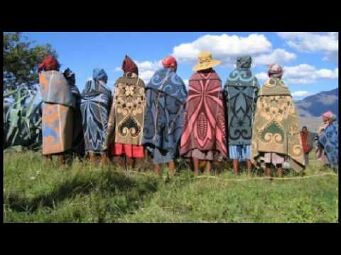 Basotho blankets with their details
