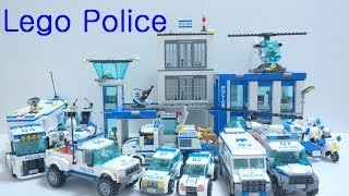 Lego Police Car Toys 2014 : 60041 - 60049 (All)   Time Lapse Build