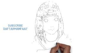 Hinata | How To Draw Hinata Hyuga - Step By Step