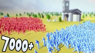 Totally Accurate Battle Simulator МАССОВАЯ БИТВА