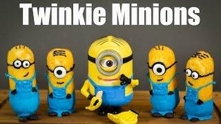 How To Make Twinkie Minions (Recipe) ミニオンの作り方レシピ