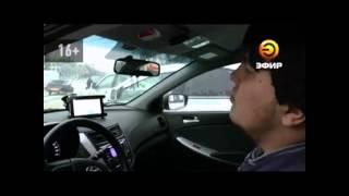 В Казани столкнулись пять машин из-за невнимательного таксиста