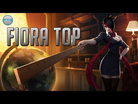 League of Legends - Headmistress Fiora Top - Full Game Commentary